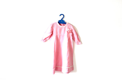 Vintage Pink French 1960's Dress 18 Months