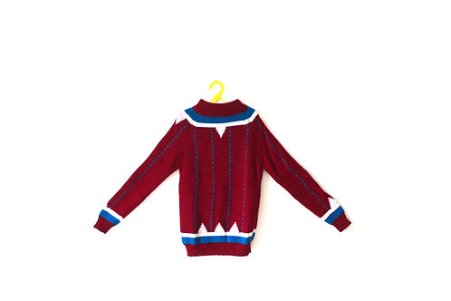 Vintage 1970's Nordic Knitted Jumper 4-5 Years
