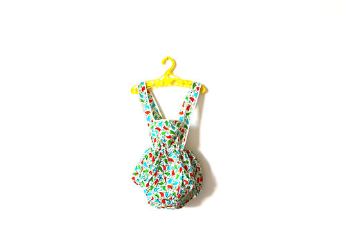 Vintage Baby Romper 1950's Sailboats and Kites 12 Months