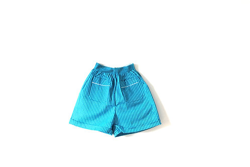 Vintage 1960's Blue Summer Shorts 6 Years