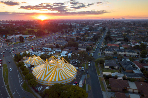 Silvers Circus @Westfield Southland_DJI_