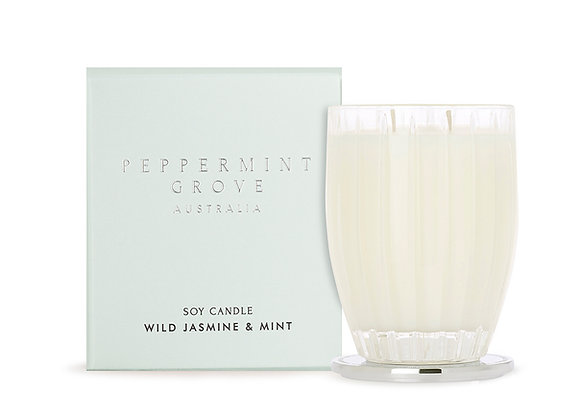 Peppermint Grove - Wild Jasmine & Mint Large Candle 350g