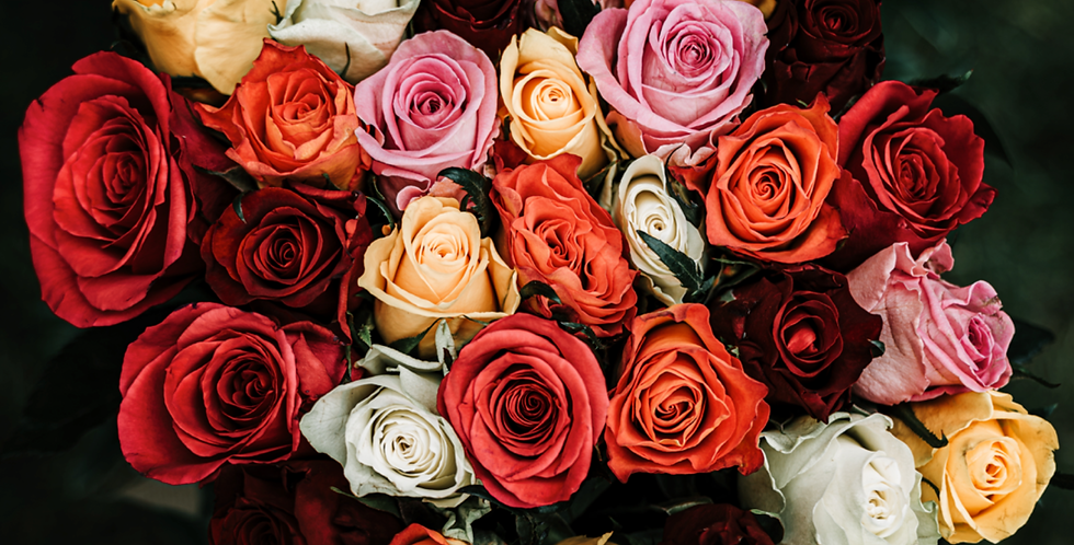 Bouquet Mixed Roses - From $65