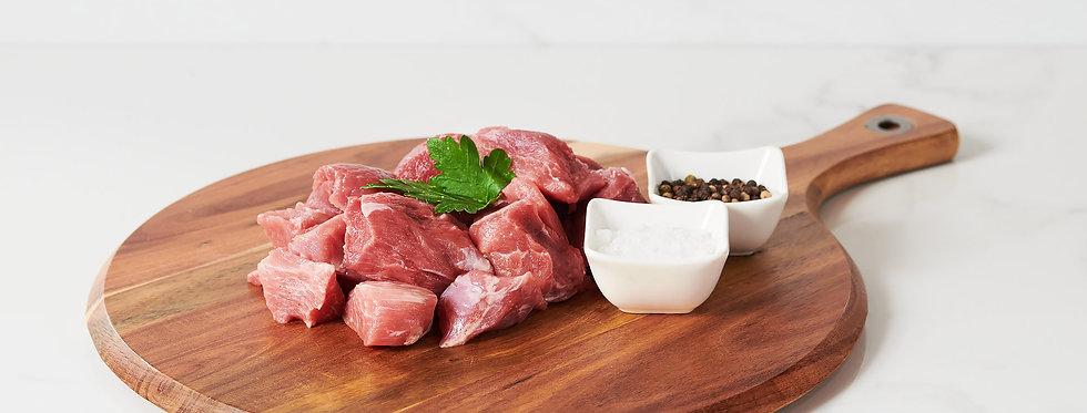 Free Range Extra Lean Diced Pork