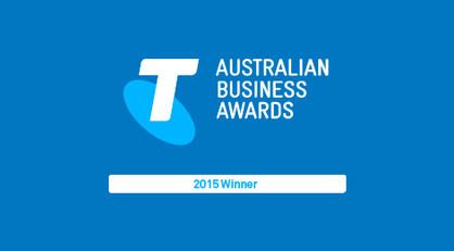 2015 Winner of the VIC Micro Business Award