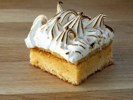 Lemon Meringue Brownie
