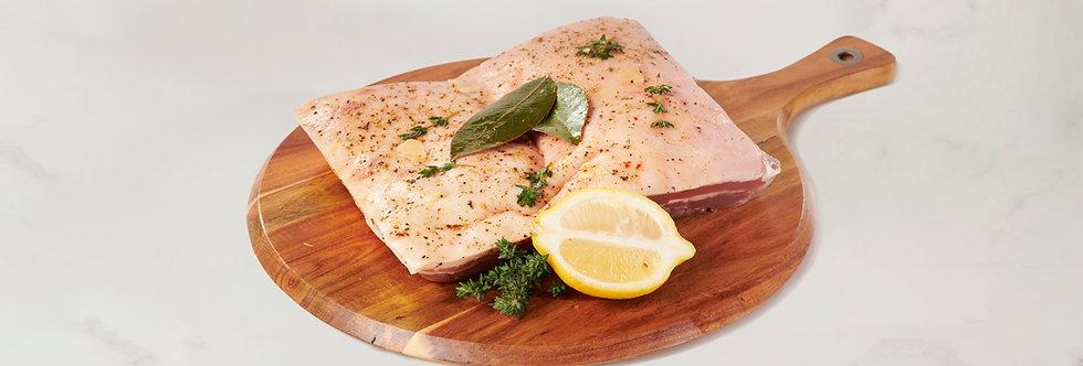 Murray Valley Italian Style Pork Belly (halves)