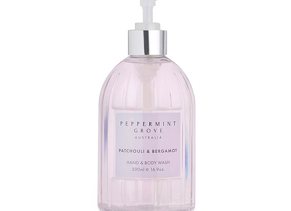 Patchouli & Bergamot Hand & Body Wash 500 ml