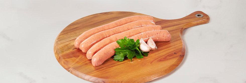 Traditional Australian Thin Bbq Sausage - Gluten Free 1kg