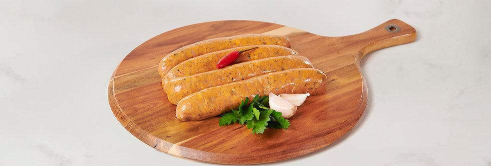 Chicken, Thai, Lemon, Lime, Chilli & Coriander Sausage (gluten Free) 1kg