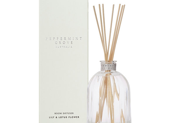 Peppermint Grove - Lily & Lotus Large Diffuser 350ml