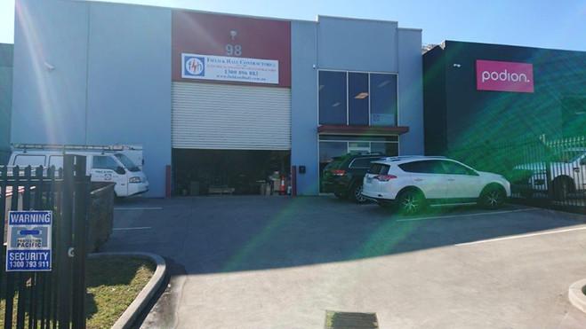 Field & Hall Contractors Office & Workshop