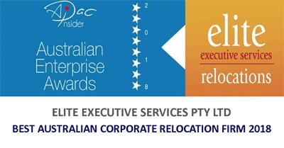 Best Australian Corporate Relocation Firm 2018