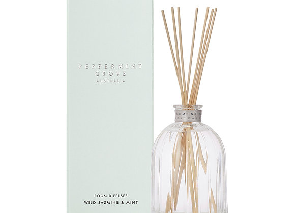 Peppermint Grove - Wild Jasmine & Mint Large Diffuser 350ml