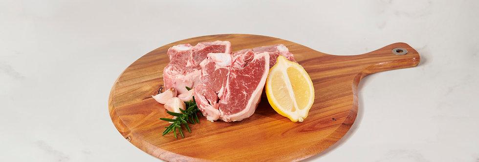 Free Range Mid Loin Lamb Chops 1kg