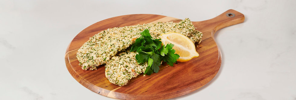 Murray Valley Parmesan & Garlic Pork Schnitzel