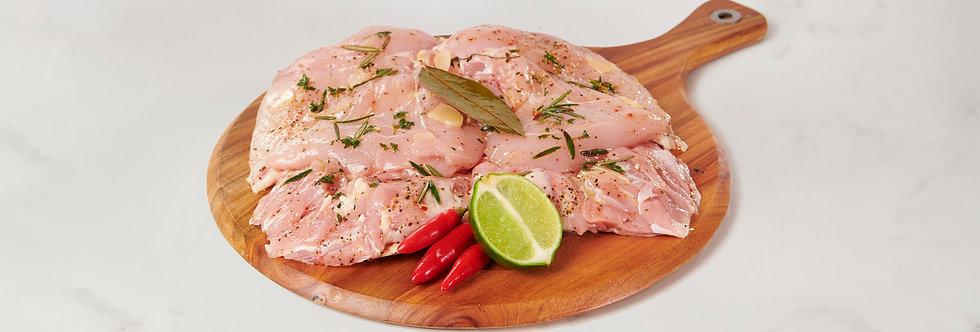 Free Range Italian Style Butterflied Whole Boneless Chicken