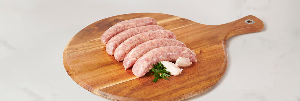 Northern Italian Pork Chipolata Sausage (not Spicy) (gluten Free) 1kg