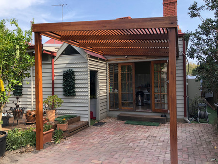 decking, pergolas and landscaping options