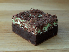 Choc Mint Brownie