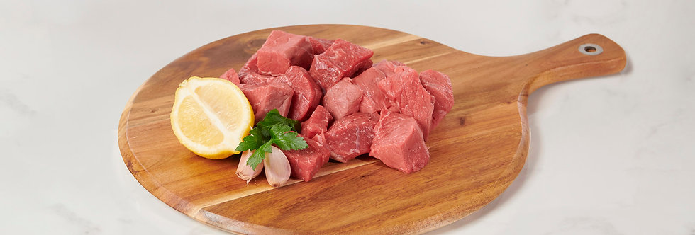 Shoulder Fillet Diced Deal For Casserole Or Strogonoff