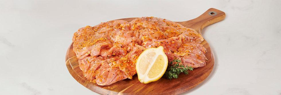 Free Range Lemon Pepper Butterflied Whole Boneless Chicken (1.2kg)