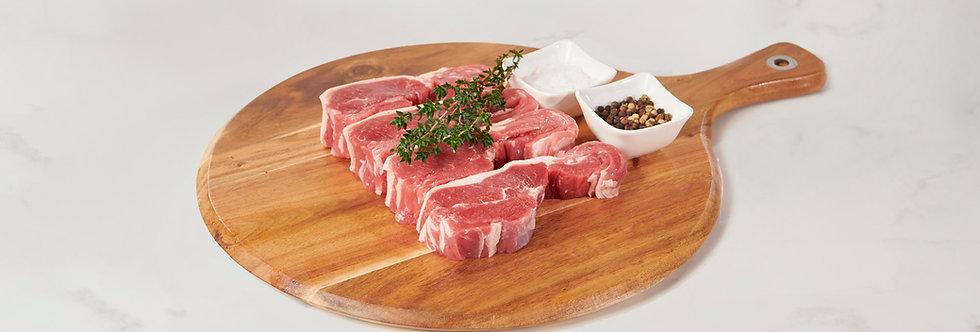 Free Range Trim Lamb Boneless Lamb Cutlets 1kg