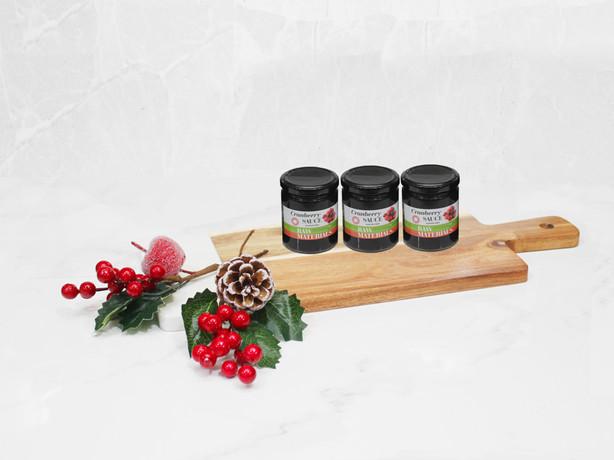 Raw Materials - Cranberry Sauce