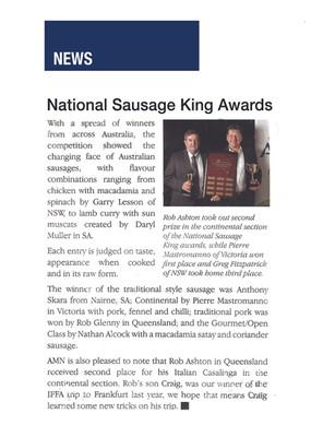 National Sausage King Awards