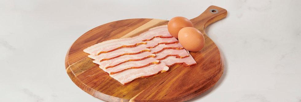 Free Range Australian Streaky Bacon 400g