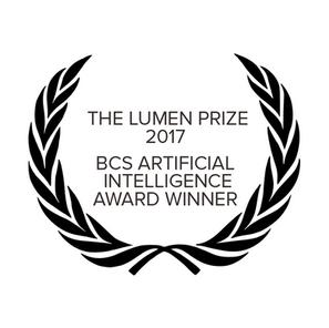 Frank wins the Lumen Prize 2017