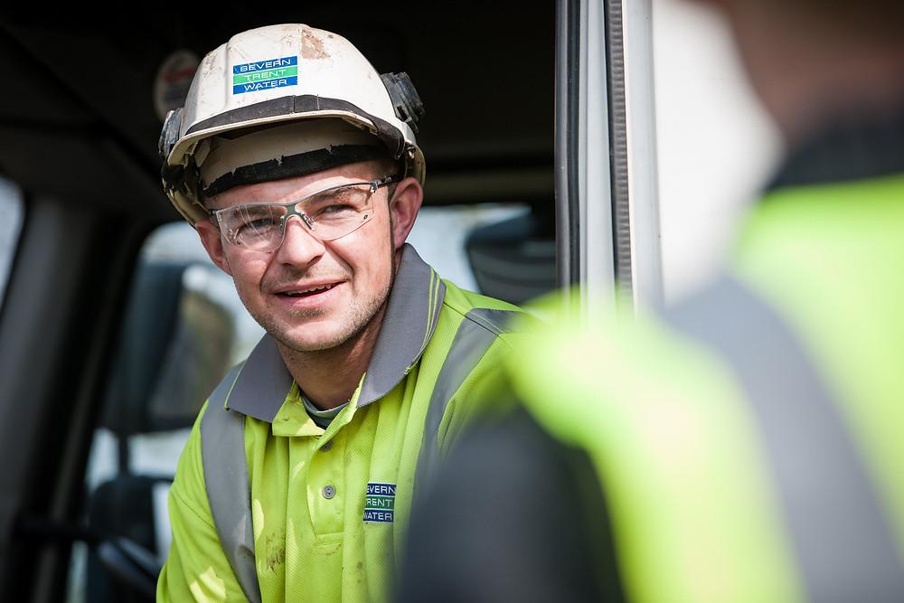 Severn Trent worker