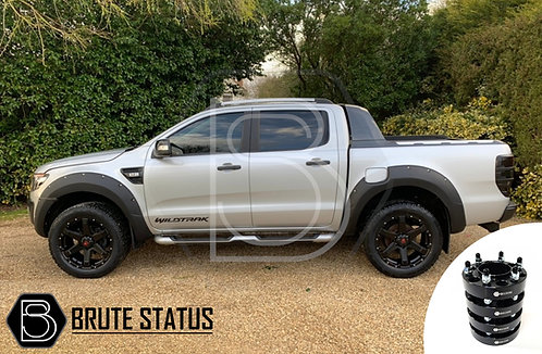 Ford Ranger 2012-15 Wide Arch Kit & 35mm Wheel Spacers - Riveted Style