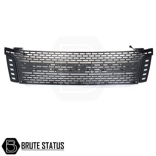 Ford Ranger 2012-2015 Black Grillewith LEDs