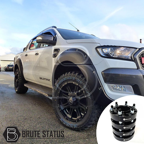 Ford Ranger 2015-19 Wide Arch Kit & 35mm Wheel Spacers - Riveted Style