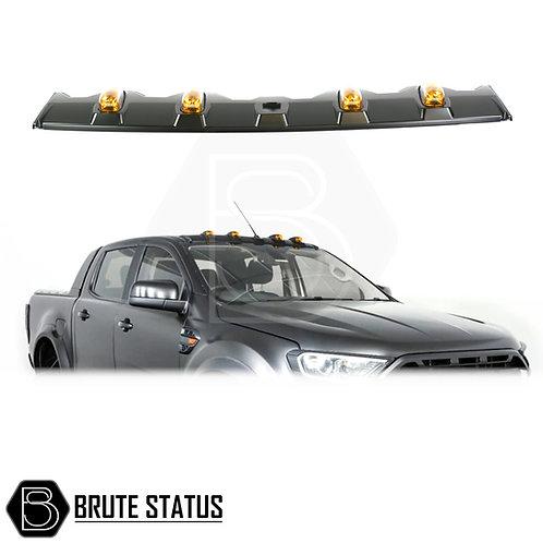 Ford Ranger 2012+ Roof Spoiler with LED Lights