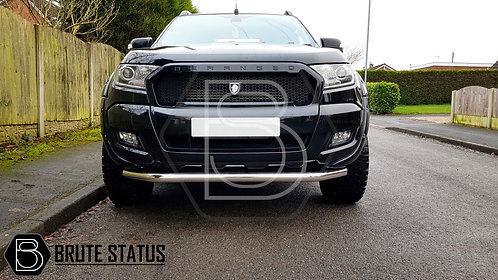 Ford Ranger 2015+ City Bar (Nudge Bar) Polished