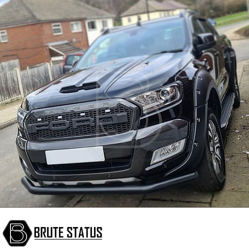 Ford Ranger 2015+ Muscle Style Bonnet Scoop