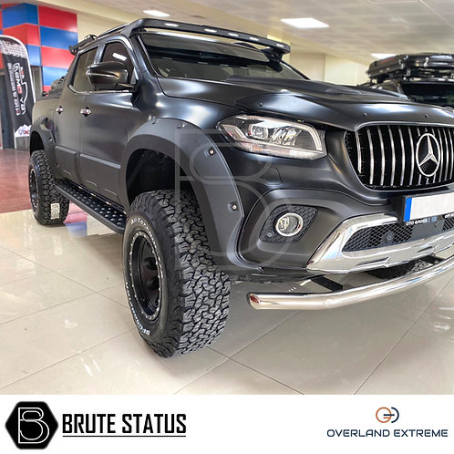 Mercedes X-Class Wide Arch Kit (Overland Extreme - Riveted Style)