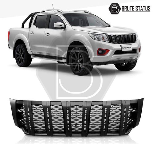 Nissan Navara NP300 2015-2019 Front Grille with LED DRL