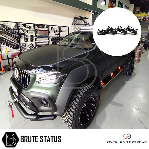Mercedes X-Class Wide Arch Kit (Overland Extreme) & 35mm Wheel Spacers