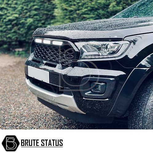 Ford Ranger 2019+ Gloss Black Grille (Wildtrak Only) with LEDs