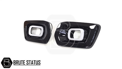 Ford Ranger T8 DRL Fog Light Surrounds (Wildtrak Only)