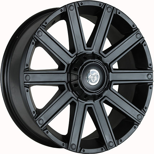 "Wolfrace Kalahari Matt Black 20"" Alloy Wheels"