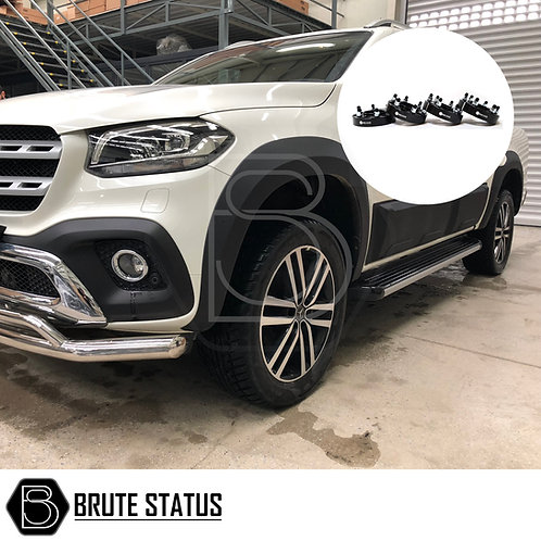 Mercedes X-Class Wide Arch Kit (Smooth Style) & 35mm Wheel Spacers