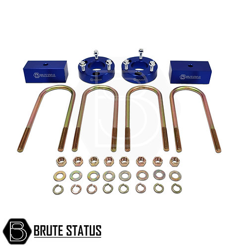 """Ford Ranger 2012+ 2"""" suspension lift kit by brute status in blue, rear block type for ad blue vehicles."""