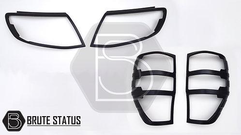 Ford Ranger 2011-15 Head Light & Tail Light Covers