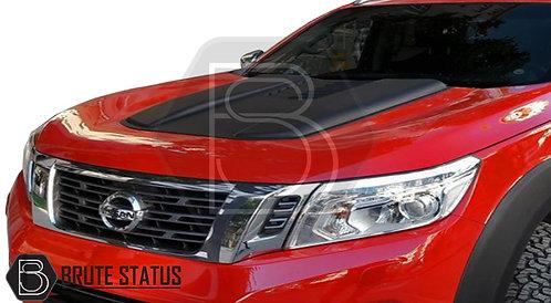 Nissan Navara Bonnet Buldge