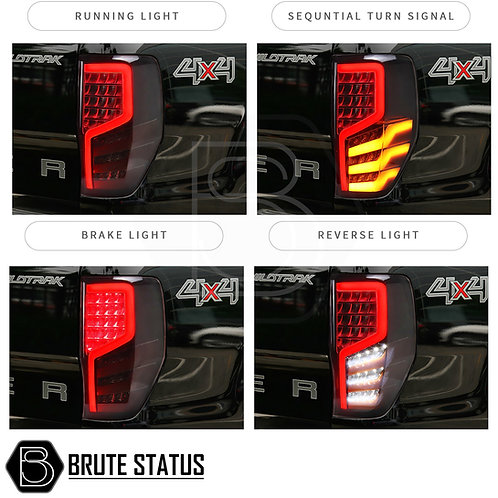 Ford Ranger 2012+ LED Tail Lights with sequential indicators