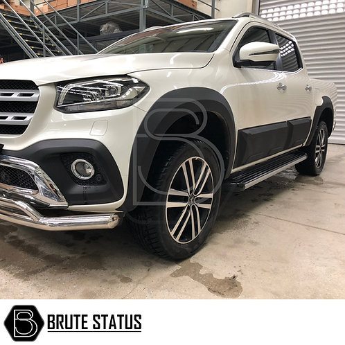 Mercedes X-Class Wide Arch Kit (Smooth Style)